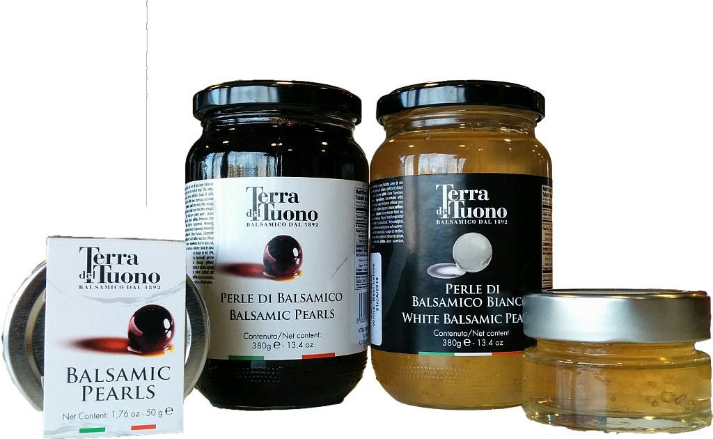 Balsamico Parels Nero & Bianco
